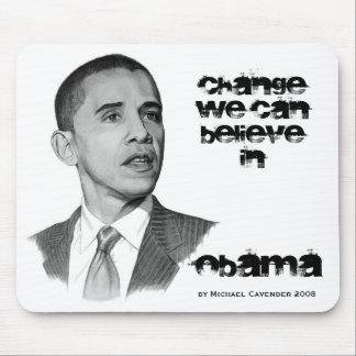 オバマの変更のマウスパッド マウスパッド