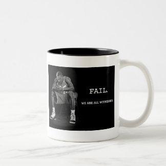 オバマの失敗 ツートーンマグカップ
