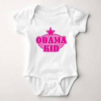 オバマの子供の女の子 ベビーボディスーツ