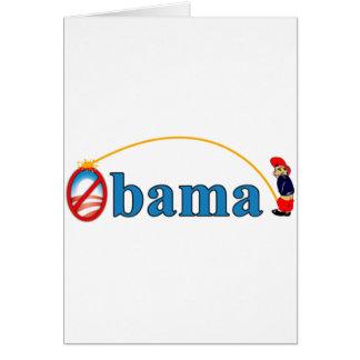 オバマの小便 カード