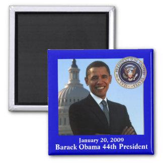 オバマの就任式の記念品 マグネット
