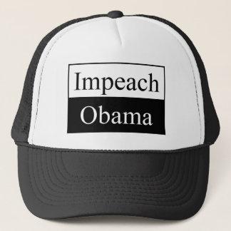 オバマの帽子を弾劾して下さい キャップ