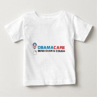オバマの心配のくねりおよび咳 ベビーTシャツ
