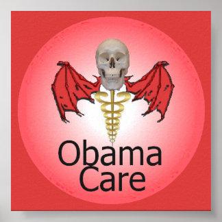 オバマの心配ポスター ポスター