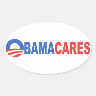 オバマの心配 楕円形シール