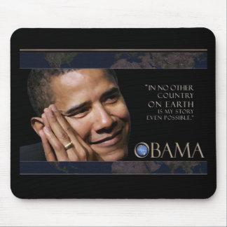 オバマの感動的な引用文 マウスパッド