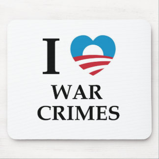 オバマの戦争犯罪 マウスパッド