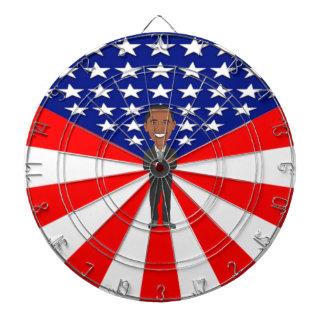 オバマの投げ矢板 ダーツボード