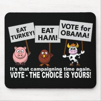 オバマの投票mousepad マウスパッド