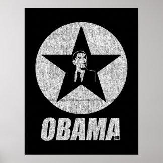 オバマの星ポスター ポスター