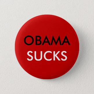 オバマの最低 5.7CM 丸型バッジ