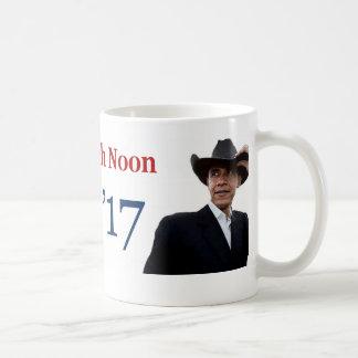 オバマの最後の日「真昼」2017年1月20日 コーヒーマグカップ
