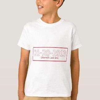 オバマの最後のDay.png Tシャツ