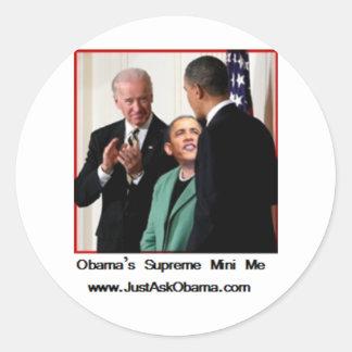 オバマの最高の小型私 ラウンドシール