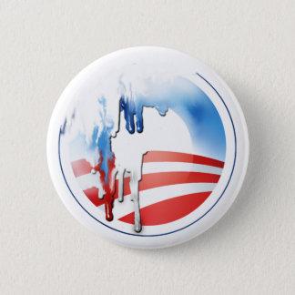 オバマの溶解ボタン 5.7CM 丸型バッジ