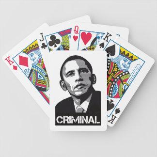 オバマの犯罪者のトランプ バイスクルトランプ