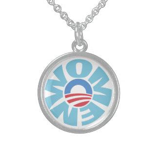オバマの純銀のネックレスのための女性 スターリングシルバーネックレス