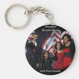 オバマの記念品円形のKeychain キーホルダー