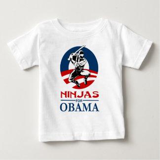 オバマの軽いワイシャツのための忍者 ベビーTシャツ