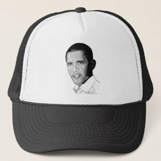 オバマの鉛筆のスケッチ キャップ