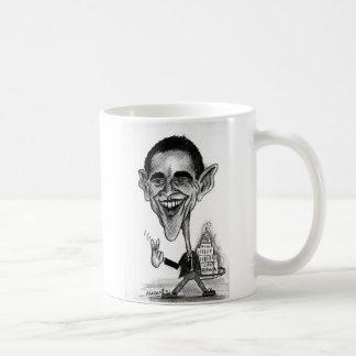 オバマの風刺漫画 コーヒーマグカップ