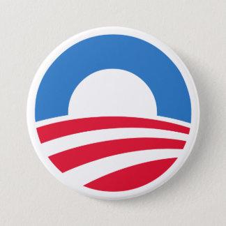 オバマの2012年のロゴボタン 缶バッジ