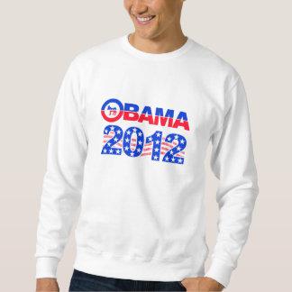 オバマの2012年のワイシャツ-スタイル及び色を選びます スウェットシャツ