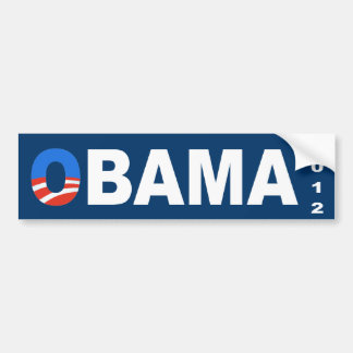 オバマの2012年の選挙のバンパーステッカー バンパーステッカー