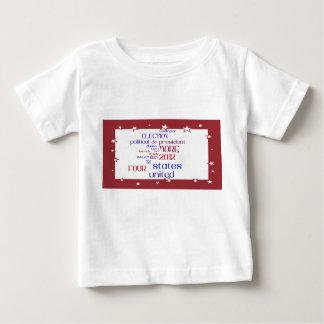 オバマの2012年の選挙の雲のワイシャツ ベビーTシャツ