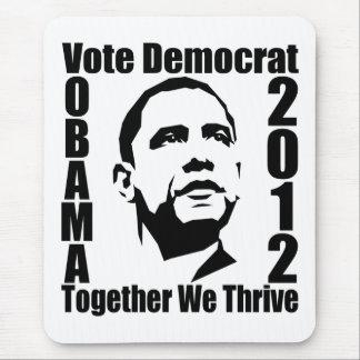 オバマの2012年のmousepad マウスパッド