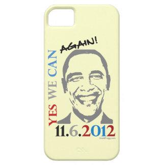 オバマの2012年のYes私達はiPhone 5の場合再度できます iPhone SE/5/5s ケース