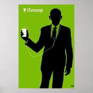 オバマのiSnoop ポスター