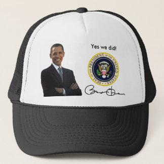 オバマのYes私達は-野球帽 キャップ