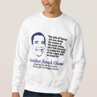 オバマはそれを言いました スウェットシャツ