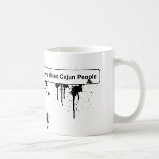オバマはケージャンの人々- BPの石油流出--を憎みます コーヒーマグカップ