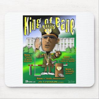オバマは命とりの王です マウスパッド