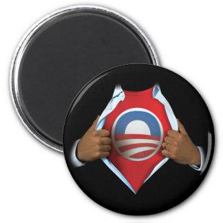 オバマは明らかにします マグネット