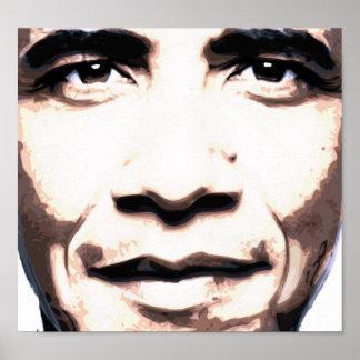 オバマは未来のポスターの直面します ポスター