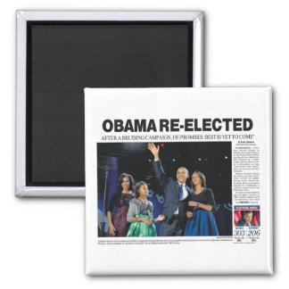 オバマは磁石を再選しました マグネット