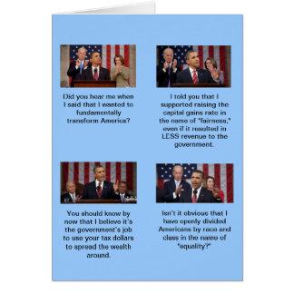 オバマは社会主義者ですか。  2同輩と2つは4か。 カード