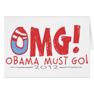 オバマは行かなければなりません2012年 カード