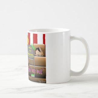 オバマは連合を救います コーヒーマグカップ
