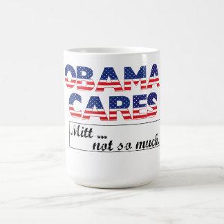 オバマは、ミットの…コーヒー・マグそんなに気になります コーヒーマグカップ
