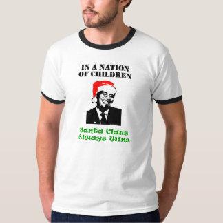 オバマクロース-子供の国家 Tシャツ