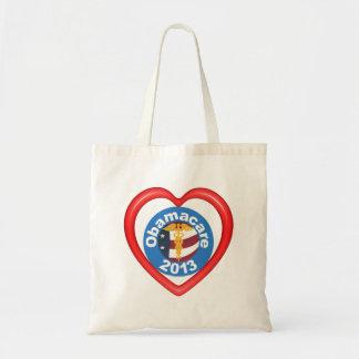オバマケアのハートのバッグ トートバッグ