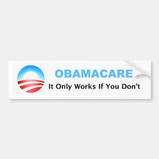 オバマケアの仕事だけ バンパーステッカー