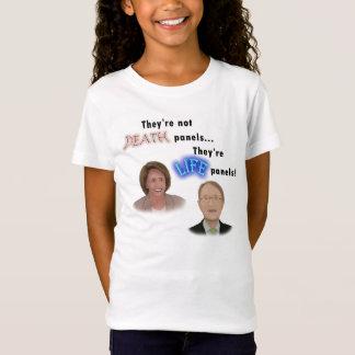 オバマケアの死のパネルの抗議 Tシャツ