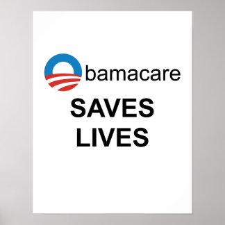 オバマケアは生命ポスターを救います ポスター