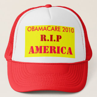オバマケア2010年、R.I.P、アメリカ キャップ