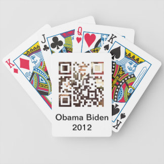 オバマバイデン氏2012年の遊ぶカード バイスクルトランプ